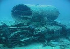 Chariots found in the red sea