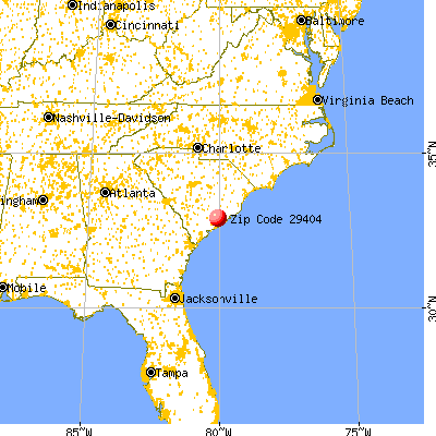 Charleston afb zip code
