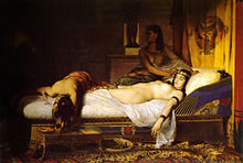 Cleopatra date of death