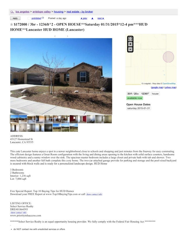 Craigslist in antelope valley