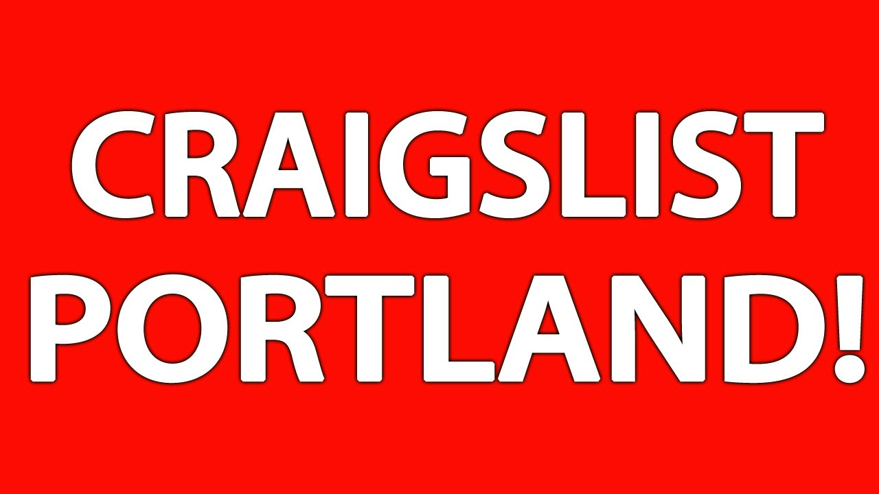 Craigslist in oregon portland