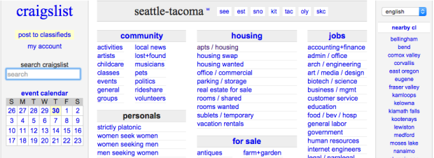 craigslist rooms for rent seattle best people are giving away