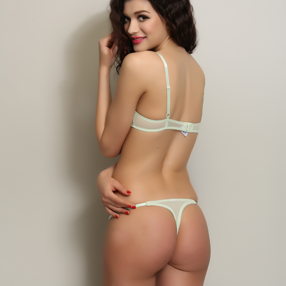 Cute girls in thongs