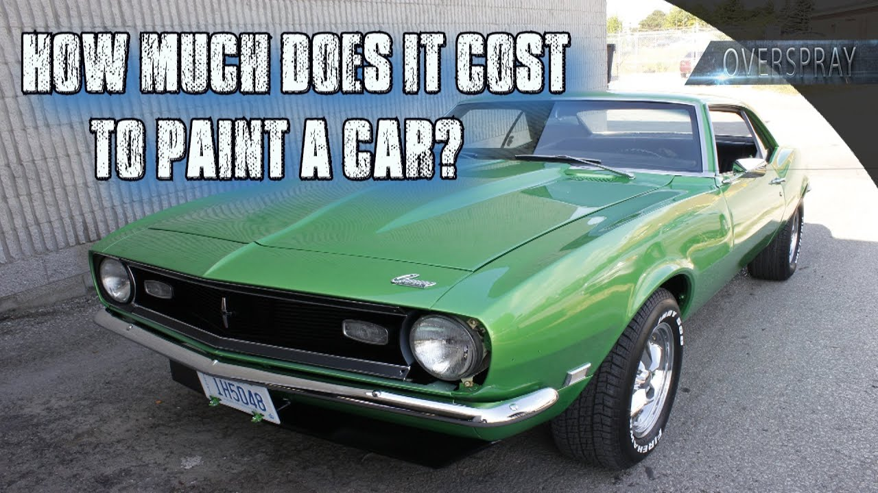 How much are paint jobs for cars
