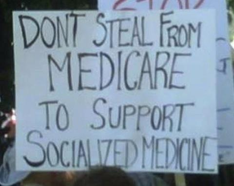 Keep your government hands off my medicare
