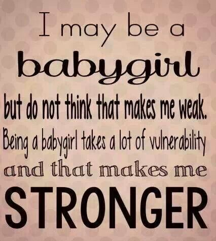 Daddy dom and baby girl quotes