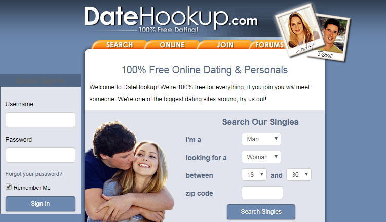 Datehookup.com search for singles