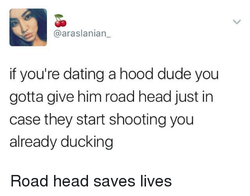 Dating a hood guy