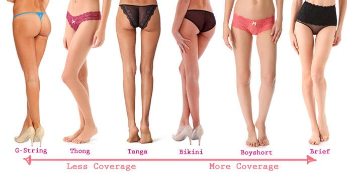 Why do boys like it when girls wear thongs?