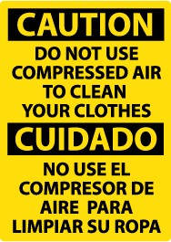 Do not clean in spanish