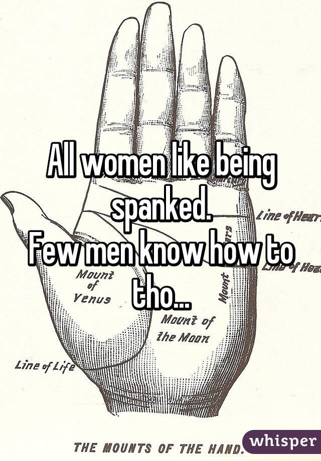Do women like to be spanked