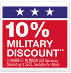 Does home depot do military discount