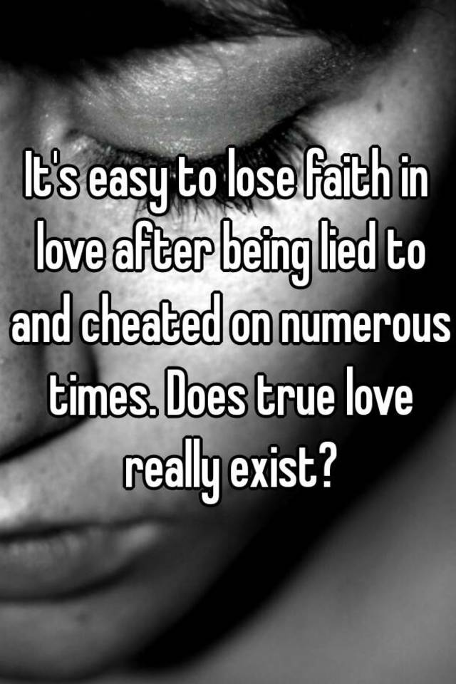 Does love really exist