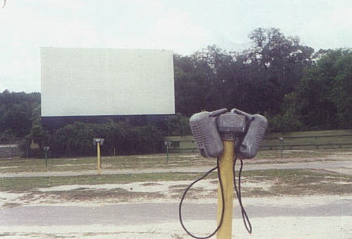 Drive in movie dade city