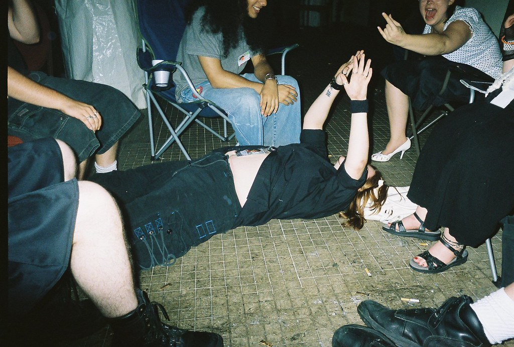 Drunk girl taken advantage of