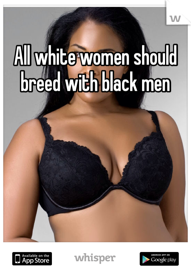 Black breed white women