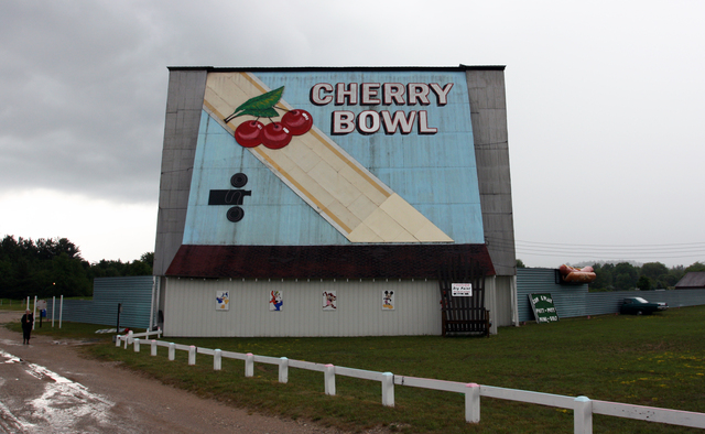 Cherry bowl drive in honor mi