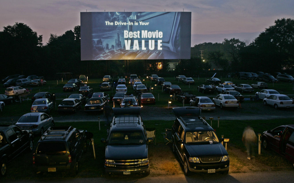 Paramount drive in showings