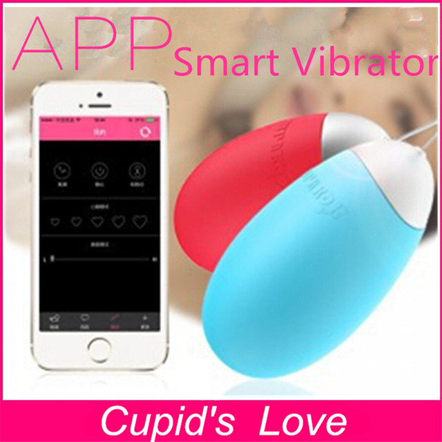 Vibrator controlled by cell phone app