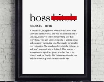 What does boss lady mean