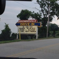 Brownsville drive in grindstone pa