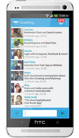 Free chat room mobile
