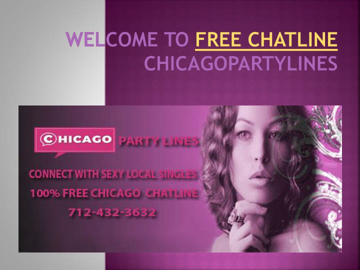 Free chicago chat lines