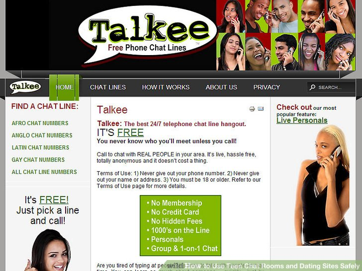 Free teen chat sites