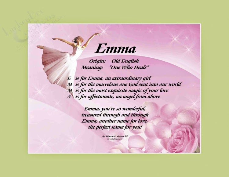 Hebrew meaning of emma