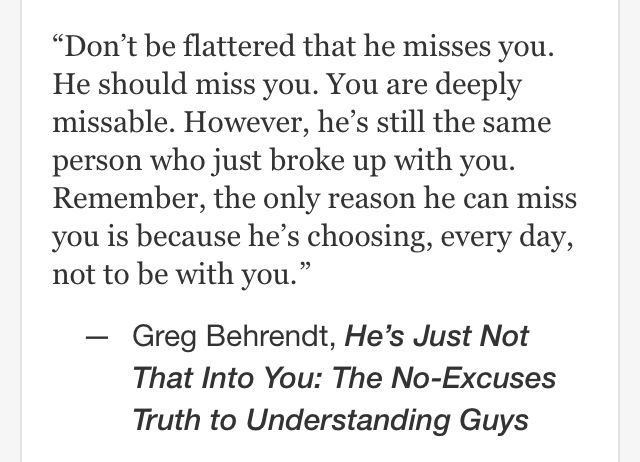 Hes just not that into you quotes