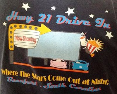 Highway 21 drive in movie theater