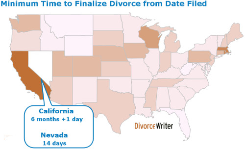 How long does a divorce take in michigan