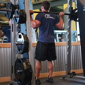 How much does the bar weigh on the smith machine