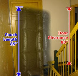 How To Get A Couch Through Door