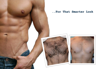 How to shave your chest and stomach without irritation