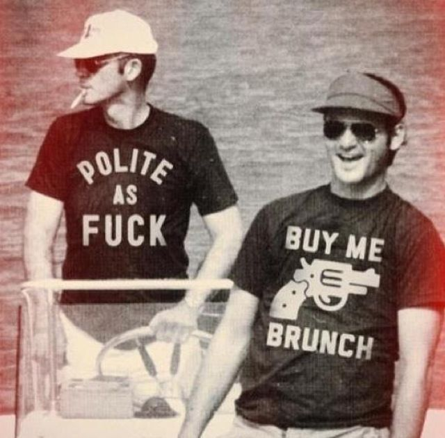 Hunter s thompson and bill murray