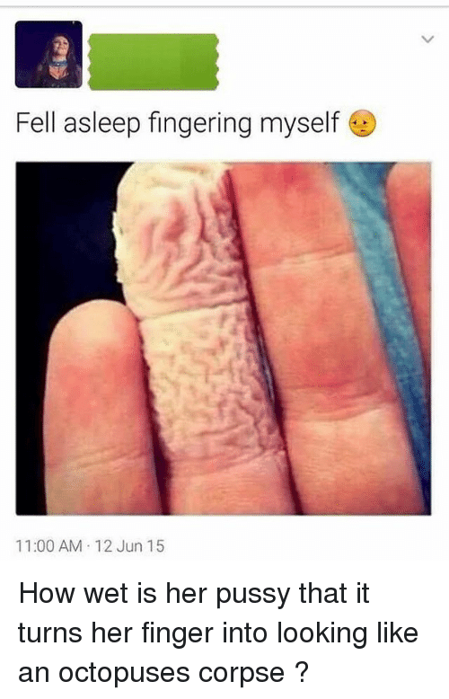 I am 12 and i finger myself