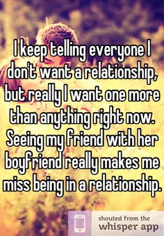 I don t want a relationship but i like her