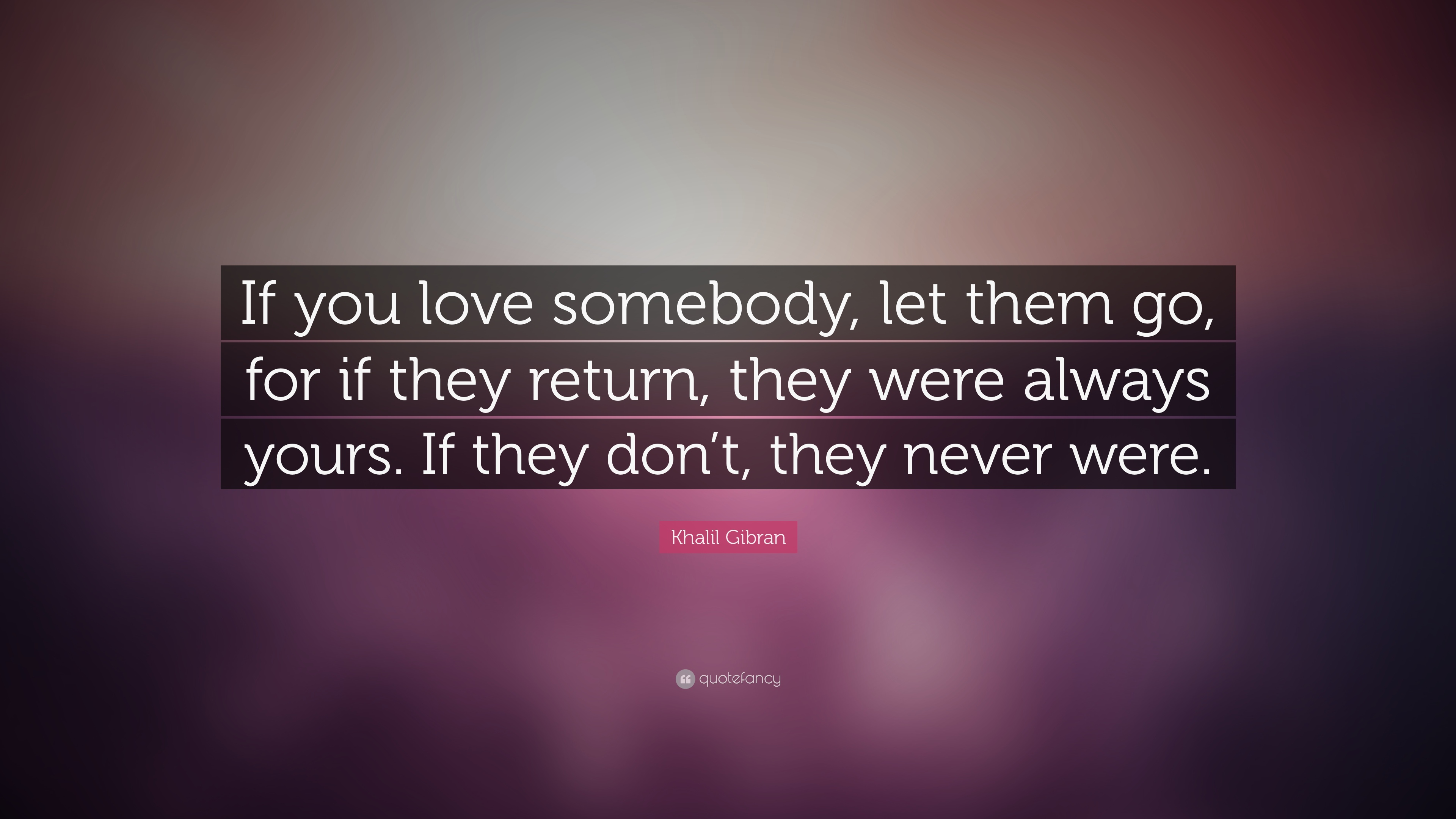 If you love them let them go quote
