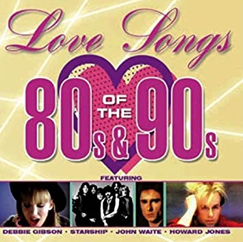 Love song artists of the 80s