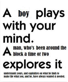Man vs boy quotes.
