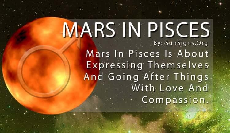 Mars in pisces woman in bed