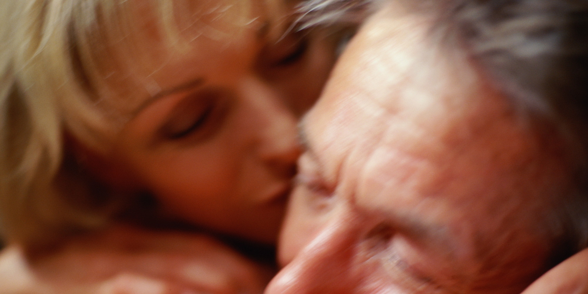 Mature women making love
