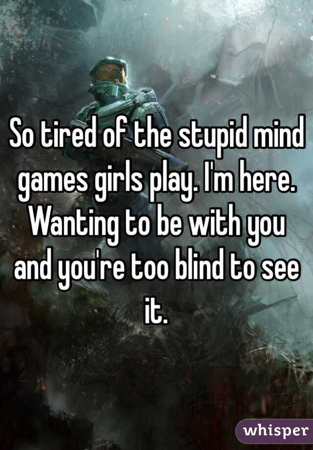 Mind games girls play