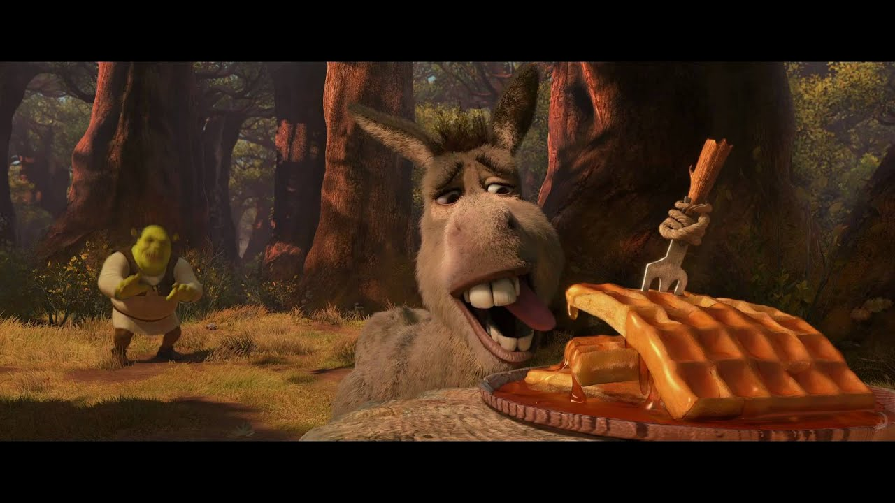 My donkey fell in your waffle hole