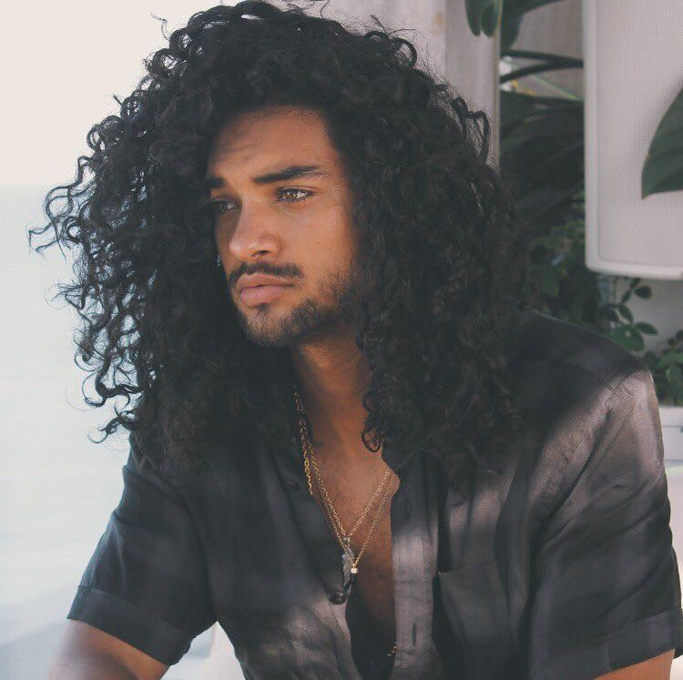 Puerto rican men with long hair