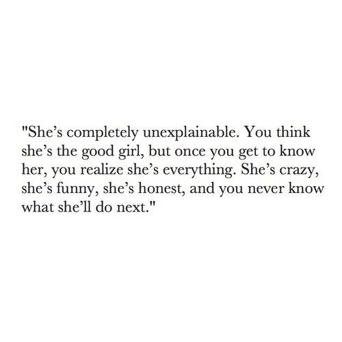 Quotes about crazy girls.