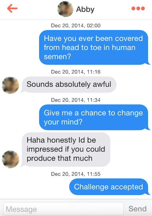 Sexual innuendo pick up lines