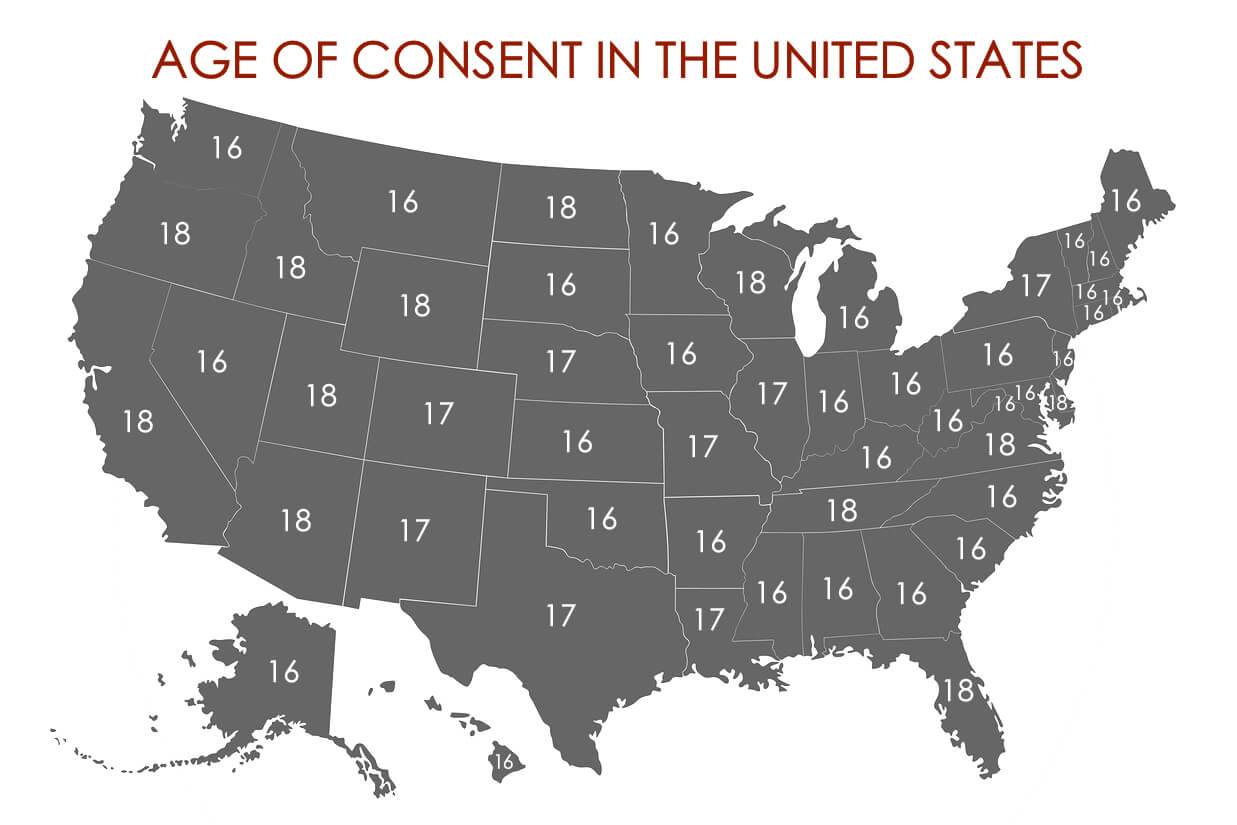 State with lowest age of consent