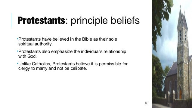 What do protestants believe in